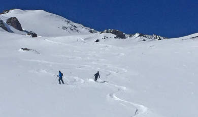 Ski touring tips - Lareinfernerspitz