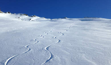 Ski touring tips - Piz Mottana