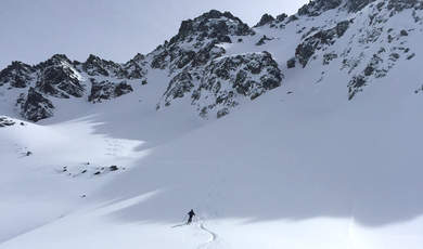 Ski touring tips - Bidnerspitz