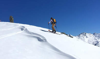 Skitourentipps - Niederjöchl