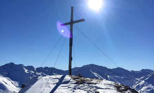Erfolgserlebnisse beim Skitouren gehen in Ischgl