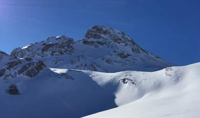 Skitourentipps in der Umgebung von Ischgl - Breite Krone